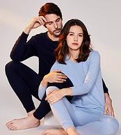 新低、100%新疆棉:宜而爽 男女款内衣套装