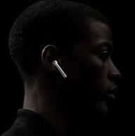 Apple 苹果 新AirPods 2代 无线蓝牙耳机 有线充电盒版