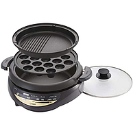 TIGER虎牌 CQG-B30N-T 家用多功能料理锅 3件套 3.7L