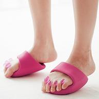 可有效修饰身形,日本设计 女士矫姿半掌拖鞋  B-040