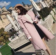 10點: La Chapelle 拉夏貝爾 70009481 女士中長雙排扣毛呢大衣