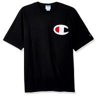 白菜价 大部分有码,Champion 冠军 男士纯棉短袖T恤