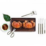 安全吃蟹:愉家 吃蟹工具8件套K191