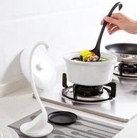 带托盘可直立,Kavar/米良品 天鹅造型汤勺