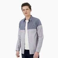 京東自有品牌、Plus會員專享:4件 INTERIGHT 男士 棉麻襯衫