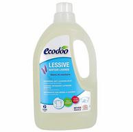 白菜價!歐盟有機認證、法國進口:1.5Lx2瓶 Ecodoo/逸樂舒 薰衣草香洗衣液