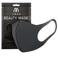 非一次性,BEAUTY MASK 防塵口罩  黑灰色經典款 1枚裝