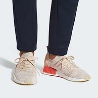 2件!adidas 阿迪达斯 NMD_R1 STLT Primeknit 女士编织透气运动鞋