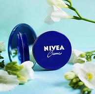 德国进口、400ml大容量、4盒:NIVEA 妮维雅 经典蓝罐长效润肤霜 400mlx4盒