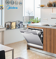 新低!中式8套碗篮,Midea 美的 WQP8-3801-CN 台式洗碗机