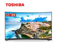 22点:东芝 55英寸 4K 曲面液晶电视 55U6780C