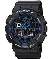 Casio 卡西歐 G-Shock 男士時尚手表 GA-100A-1A2ER