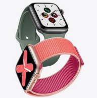 5代新品、20點開始:Apple 蘋果 Apple Watch Series 5 智能手表 GPS款 44mm