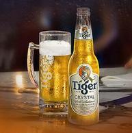 喜力旗下:330mlx24听x5件 Tiger/虎牌啤酒 晶纯  整箱装