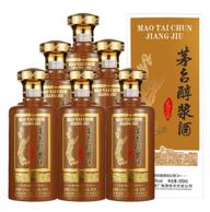 贵州茅台出品:茅台醇浆酒1956 53度酱香型白酒 500mlx6瓶