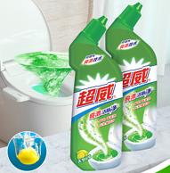 超威 亮滑洁厕灵 清洁剂 500gx4瓶