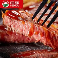 金砖五国会晤牛肉供应商:400gx2件 恒都 菲力牛排套餐10片