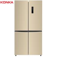 26日0點:KONKA 康佳 BCD-450WEGX4SP 450升 變頻 十字對開冰箱