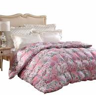 專柜同款,95%白鵝絨:FUANNA/富安娜 1.8米 雙人床羽絨被子 230x229cm