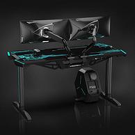 值哭、高顏值、扎實用料:蓋世英雄 專業電競桌 1.5米