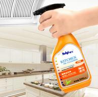 白菜、泡沫+喷雾双功能!瑞亿 厨房强力去污清洗剂 500ml
