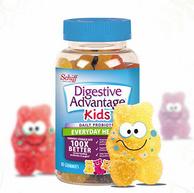 神價格!Schiff旗下 80粒x2件 美國 Digestive Advantage DA益生菌軟糖
