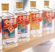 4.9分:郎酒 小郎酒 45度 浓酱兼香型白酒 100ml