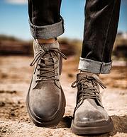 5分 19年新款:木林森 男士工裝鞋