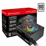 今日20點、質保5年:Tt 額定500W 80PLUS認證 RGB 臺式機電源