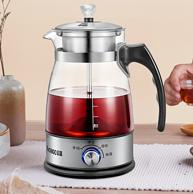 24小時保溫+蒸汽煮茶:志高 Z506 全自動玻璃蒸汽煮茶器 1.2L