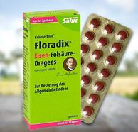 5小时结束:Salus Floradix 铁元补血补铁片剂 84粒