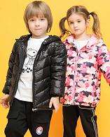 4.9分 官方授權 90%白鴨絨:史努比 兒童輕薄羽絨服 多色