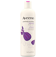 Aveeno 艾维诺 滋养保湿沐浴露 含无花果+乳木果油 473ml
