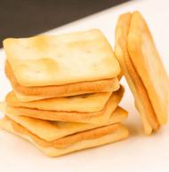 田园百珍 豆乳苏打夹心饼干 118gx5袋