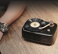雙聲道+C型導向聲學,coocaa 酷開 Live-time 復古留聲機無線藍牙音箱