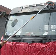 硅膠包邊+不銹鋼伸縮桿:佳藝田 棉線水刷 伸縮式洗車拖把140cm