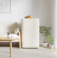 時光里的溫柔雕刻,miniJ 小吉 Light BC-M121C系列 單門冰箱 云漫白