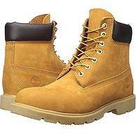 US8.5碼,簡版大黃靴:Timberland天木蘭 18094 男士經典高幫系帶工裝靴