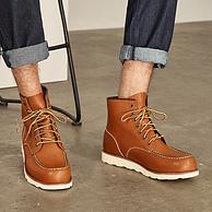 已截團!第6期回購團:網易嚴選 男式頭層牛皮手工拉線工裝靴
