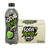 Plus会员专享,10%真果汁:480mlx60瓶 健力宝 爆果汽苹果汁饮料