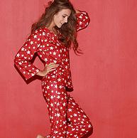 商場同款、愛慕集團:Shinelove/心愛 女士印花家居服套裝SL46761