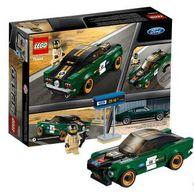 17日0点:7岁+, LEGO 乐高 超级赛车系列 75884 1968款福特野马