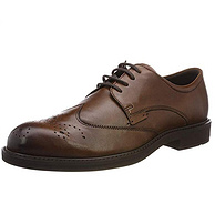 商场同款、头层牛皮:41码 ECCO/爱步 2019年新款 男士 唯途III商务皮鞋