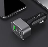 雙口多款,neekin耐奧金  USB 17W/63W PD車載快速充電器