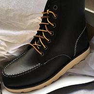 買手黨團的135元的美國進口頭層牛皮嚴選工裝靴 實測曬單 230金幣曬單 優質曬單獎勵25元紅包
