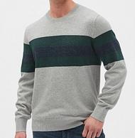 双11预售: Gap 盖璞 485410 男士针织衫