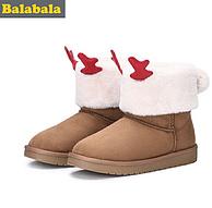 Balabala 巴拉巴拉 儿童雪地靴