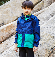 今日結束 170大童都有碼:探路者 兒童三合一沖鋒衣