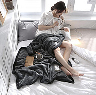 眠度 午睡毯子辦公室小毯子加厚 100x150cm