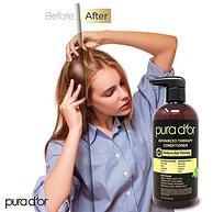 Pura d'or/普拉多 摩洛哥天然有机防脱护发素洗发水